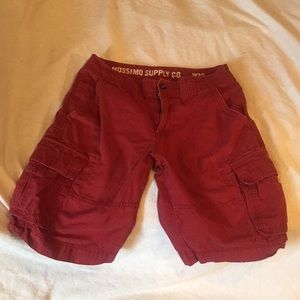 MOSSIMO SUPPLY CO BOTH SIZE W30 SHORTS
